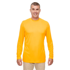 f00ffe899ef ... Long-Sleeve Top UltraClub® Men s Cool   Dry Performance ...